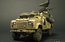 Land Rover WMIK with MILAN missile launcher