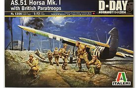 AS-51 HORSA Mk.I w/British Paratroopers