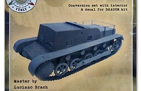 Pz.Kpfw. IB Transport conv. set with interior & decals for Dragon Kit