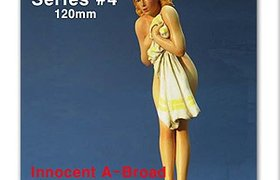 120mm Nose Art Series #4 (Innocent A-Broad)