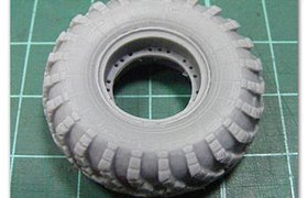 备胎的BTR-60(2个)Spare wheels for BTR-60 (2 pcs.)