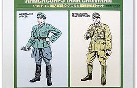 WWII Wehrmacht Officer & Africa Corps Tank Crew