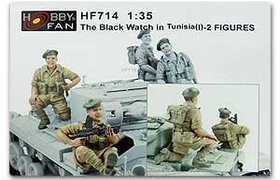 The Black Watch in Tunisia(1) Figures