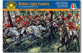 British Light Cavalry - US Indip. War