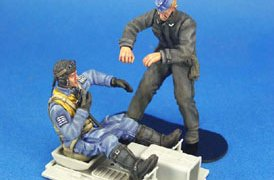 WWII Luftwaffe BF-109 Pilot & Mechanic set