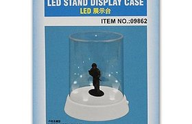 LED Stand Display Case (dia.:84mm , Height:115mm)