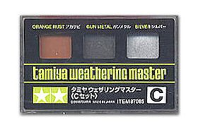 Weathering Master C Set (Orange Rust/Gun Metal/Silver)