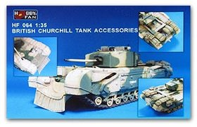 Bristish Churchill Tank Accessories