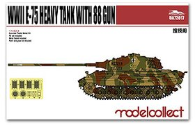 WWII E-75 Heavy Tank with 88 gun
